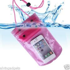 Waterproof Pouch Bag Cover Case For Gadgets Mobile Phone(Black)