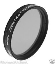 49mm Video Camera Polarising (Circular) Lens Filter, AICO, Made in Japan