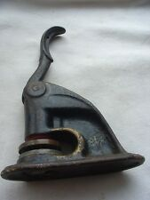 Antique Vtg Cast Iron Notary Stamp Seal Embosser Sanctuary Jackson Oh S of A
