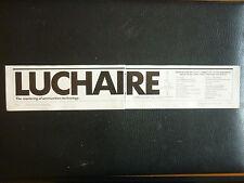 8/1989 PUB LUCHAIRE DEFENSE ARMEMENT MUNITIONS AMMUNITIONS GRENADES ARTILLERY AD