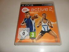 PlayStation 3 PS 3  Active 2 Personal Trainer / Nur Software