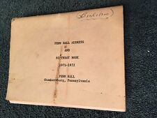 1971 Penn Hall Junior College & Prep School Address Book Chambersburg, PA ID#290