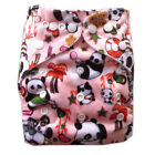 Alva Reusable Washable Baby Cloth Diaper One Size Minky Nappy +1 Insert M33