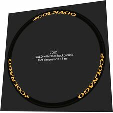 COLNAGO 18mm Rim Sticker / Decal Set