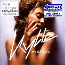 ☆ CD SINGLE Kylie MINOGUE - David GUETTA Love at first sight RARE ☆ NEW SEALED ☆