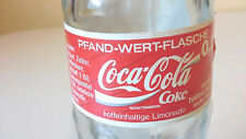 Vintage Germany Coca-Cola Bottle 0,2L Paper Label