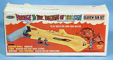 VOYAGE TO THE BOTTOM OF THE SEA Remco Seaview Sub Set 1967 Rare Box Version