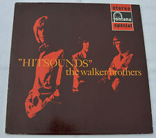 """THE WALKER BROTHERS: """"Hitsounds"""" (Fontana 701 577 WPY)"""
