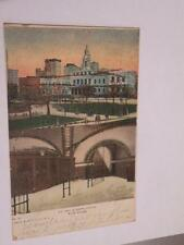 ANTIQUE POSTCARD CITY HALL A SUBWAY STATION NEW YORK
