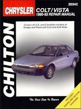 1990 1991 1992 1993 Dodge Plymouth Colt Vista Chilton Repair Shop Manual 4181