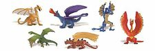 Safari Ltd toys - LAIR OF THE DRAGON toob - 6 winged mythical creatures