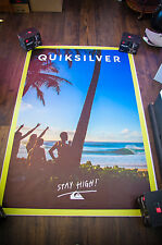 QUICKSILVER Giant 4x6 ft D/S French Fashion Original Advertising Poster 2016