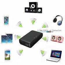 A2DP Bluetooth Stereo Audio Receiver Adapter Dongle Transmitter For Phones Black