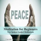 Beginners Guided Meditation + Stress & Anxiety Relief CD - 2 Spoken relaxations