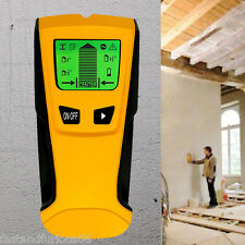 MultiFunction LCD Display Stud Center Finder Metal AC Live Wire Detector Scanner