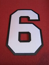 Custom Football Twill Jersey Numbers - 2 color