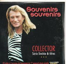 CD CART COLLECTOR 6T JOHNNY HALLYDAY SOUVENIRS/SOUVENIRS  DE 1996  NEUF SCELLE