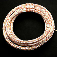 1m High End PTFE OCC Cable wire For HIFI Audio Speaker Headphone Acoustic DIY