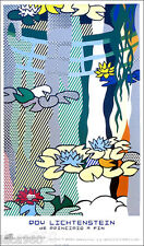 Roy LICHTENSTEIN Water Lilies and Japanese Bridge Pop Art Poster