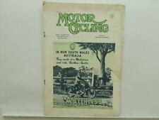 March 1951 Motorcycling Magazine Matchless Clubman Ariel Red Hunter AJS L8577