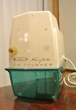 Vintage Retro Turquoise Blue Atomic  Oster Electric  Ice Crusher