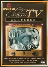 The Best of Classic TV Westerns - 2 DVDS - NEW - SEALED