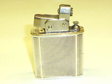 NEVERFAIL (GRUNWALD) SEMI-AUTOMATIC LIGHTER W. 925 STERLING SILVER CASE -LONDON