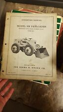 Hough Model HY Payloader Operating Manual