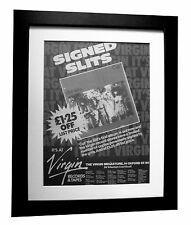 THE SLITS+Cut+Typical Girls+POSTER+AD+FRAMED+ORIGINAL 1979+EXPRESS GLOBAL SHIP
