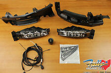 2015-2017 Dodge Charger Complete LED Fog Light Lamp Kit Mopar OEM