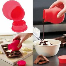 Silicone Milk Pouring Sauce Cup Baking Chocolate Melting Cup Mould Butter