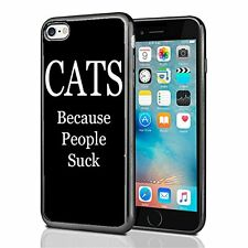 Cats Because People Suck For Iphone 7 Case Cover By Atomic Market