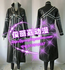 Sword Art Online Kirito Black Halloween Suit Cosplay Costume J001
