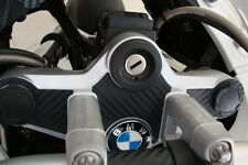 BMW R1200GS GSA Steering Plate Yoke 3D Carbon Look Sticker Di Noc 2008 - 2014