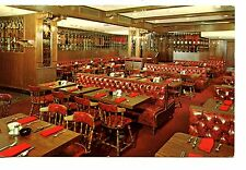 Interior-English Pub Restaurant-Bowling Green-New York City-Vintage Postcard
