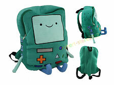Hot Adventure Time Plush BMO Beemo Backpack Game Shoulder bag Book Bag Gift