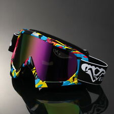 Graffiti Frame Motocross Motorcycle Goggles Off-Road Dirt Bike MTB ATV Eyewear