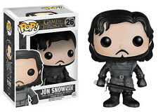 FUNKO POP! GAME OF THRONES: JON SNOW CASTLE BLACK 26 VINYL w/ PRIORITY SHIPPING