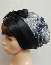 Women's satin head scarf, Jewish tichel, sleeping cap wrap, satin hair bonnet