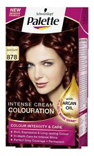 Schwarzkopf Palette Colours 878 Mahogany Intense Cream Hair Coulouring Dye x1