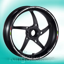 SET adesivi cerchi ruote HONDA NC750X stickers wheels - NEW MODEL EXCLUSIVE -
