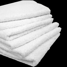 4# BOX COTTON TERRY CLOTH CLEANING TOWELS SHOP RAGS 12X12 HEAVY DUTY COMMERCIAL