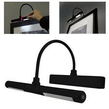 Wireless Picture Light Led Frame Lamp Cordless Art Battery Operate Wall Lighting