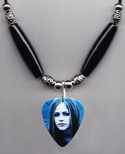 Avril Lavigne Signature Photo Guitar Pick Necklace #2