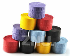 10PCS Absorb-sweat stretchy Tennis Squash Racquet Band Grip Tape Overgrip cdj
