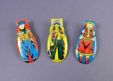 Set of c1950's Tinplate Clickers - Cowboys & Indians