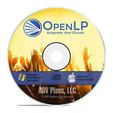 Professional Church Worship Presentation, OpenLP Bible Study Songs, Software F19