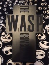 W.A.S.P.- The Crimson Idol Rare UK Promo CD/Cassette In Cross Shaped Box