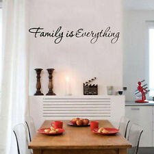 Family is Everything Removable Home Decor Art Vinyl Quote Wall Sticker Hot 1 Pcs