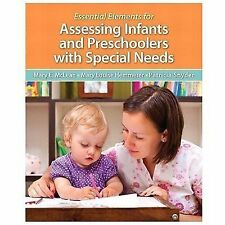 Essential Elements for Assessing Infants and Preschoolers with Special Needs, Pe
